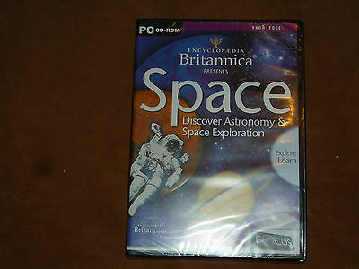 Encyclopedia Britannica presents Space (PC CD-ROM, 2001) NEW & SEALED!