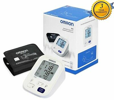Omron M3 HEM-7131 Digital Upper Arm Automatic Blood Pressure Monitor BPM