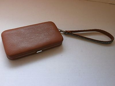 Vintage  Case, Jewelry Box, Purse, Wallet from Leather  for coins, Art Deco