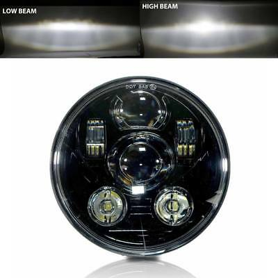 LED 5.75 5 3/4 Motorcycle Projector Light Bulb Headlight Headlamp DOT H4467