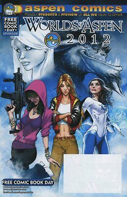 Worlds Of Aspen 2012 - Fathom Lady Mechanika - Fcbd Free Comic Book Day