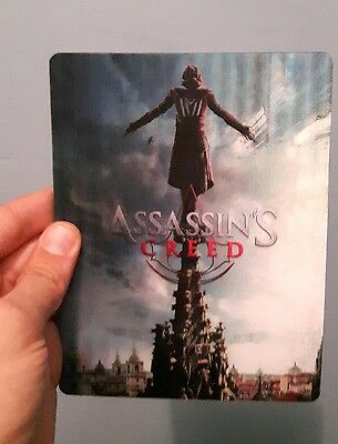 Assassin's Creed 3D lenticular cover Flip effect for Steelbook