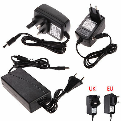 UK/EU Plug 3V 4.5V 5V 6V 9V 12V 1A 2A 5A AC 100-240V Converter Adapter Charger