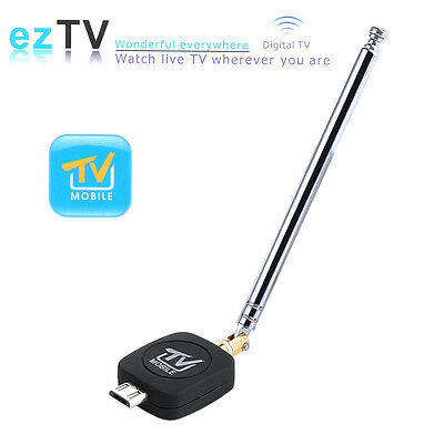 Mini Micro USB DVB-T Digital Mobile TV Tuner Receiver for Android 4.0 HDTV Phone
