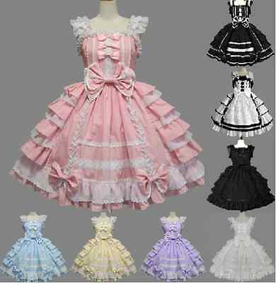 Princess Rococo Baroque Lolita Cosplay Costume Marie Antoinette Gown Dresses