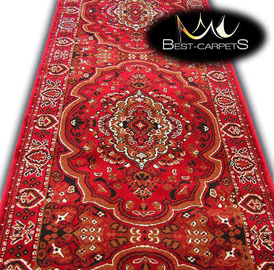 Modern Hall Carpet Runner BCF TRADITIONAL Stairs Width 60-200cm extra long RUGS