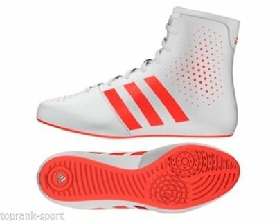 Adidas Boxing KO White Legend Adults Men's 16.2 Boots Shoes
