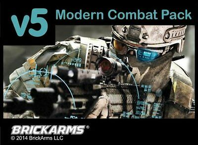 "BrickArms 2.5"" Scale Modern Combat Weapons Pack v5"