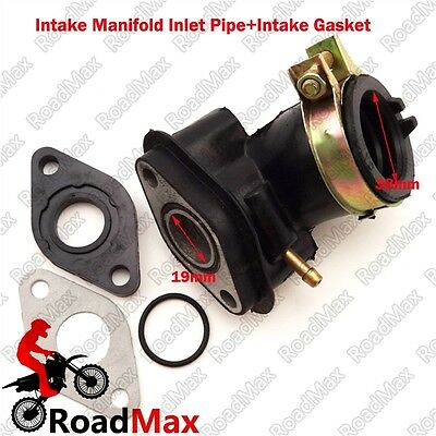 GY6 Engine Intake Manifold Inlet Pipe Gasket 50cc Gas Moped Scooter Chinese