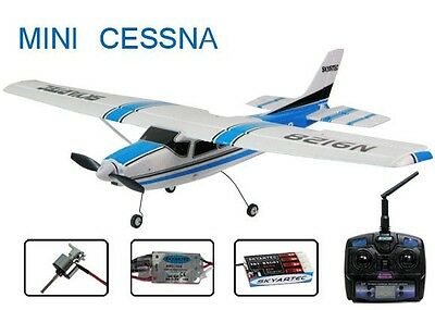 Mini Cessna Radio Controlled Plane Brushless version 2.4GHz RTF performs stunts