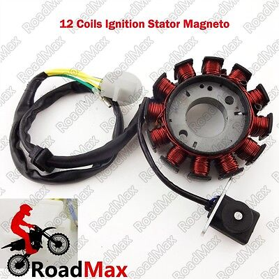Gy6 12 Poles Ignition Magneto Rotor 125cc 150cc Chinese Moped Scooter ATV GoKart