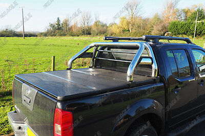 Nissan Navara D40 Hawk Roll Bar - Fits with Tonneau Covers