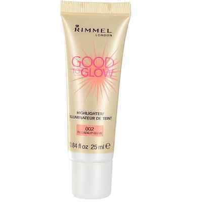 Rimmel Good To Glow Highlighter - 002 Piccadilly Glow - 25ml