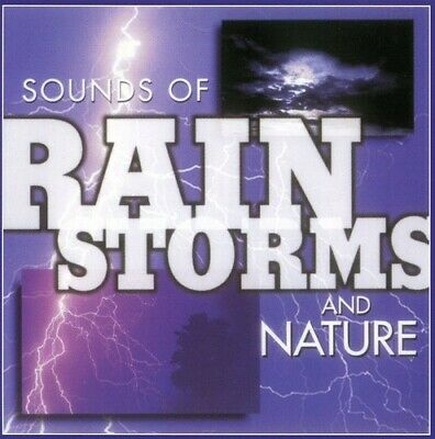 Sounds Of Rain Storms & Nature - Sound Effects (1999, CD NUEVO)