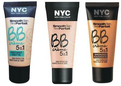 NYC Smooth Skin BB Crème 5 in 1 Skin Perfector - Choose Your Type and Shade-30ml