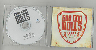 goo goo dolls - rebel beat   very  rare   benelux  only  promo cd