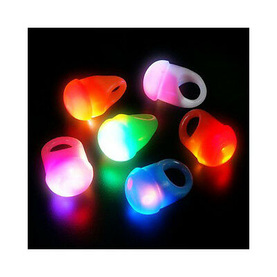 Flashing LED Jelly Rings (24 Pack) Light Up Party Ring 2 Dozen