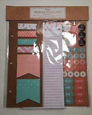 Target Dollar Spot Mini Planner Accessories Kikki K Page Flags Sticky Notes NEW