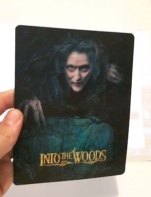 Into the Woods Lenticular Magnet cover Flip effect for Steelbook
