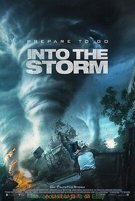 INTO THE STORM MOVIE POSTER DS 27x40 Final Style 2014 TORNADO TWISTER Film