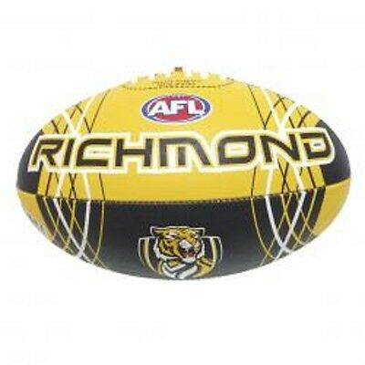 Afl Richmond Tigers Full Size Synthetic Team Football - Brand New