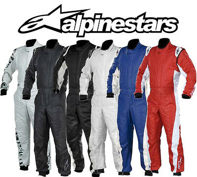 Alpinestars GP Tech Race Suit FIA 3-Layer Rally, Racesuit All Colours & Sizes