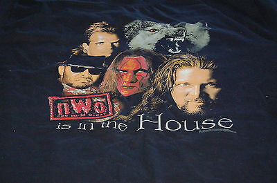 As New 1990s WCW nWo Wrestling THE WOLFPACK is in the house Black T-Shirt