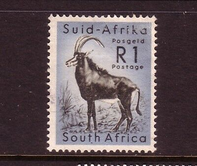 SOUTH AFRICA....  1961  R1  antelope used
