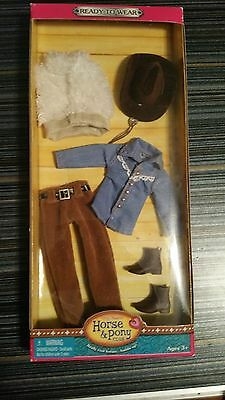 Only Hearts Club  HORSE & PONY CLUB BROWN WESTERN OUTFIT-NIB