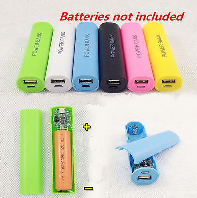 2600mAh Power Case Kit USB For All Phone Battery Bank DIY 18650 Box Charger