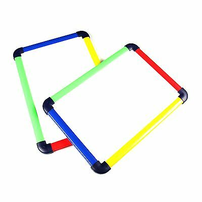 Children's Junior Colourful Magnetic Dry-Wipe Whiteboard - A4 & A3 Sizes