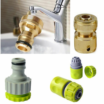 Water Hose Pipe New Connector Tubing Plumbing Watering Garden Fittings