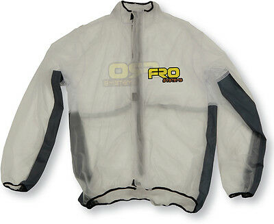 FRO Systems Adult Waterproof Rain Mud Jacket, MX, Motocross, Dirtbike BMX, MTB