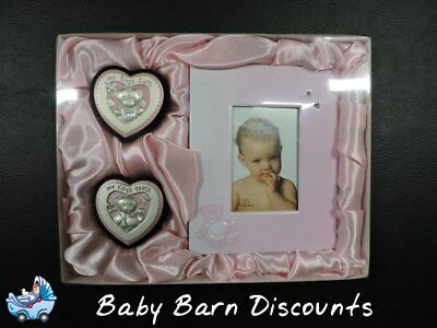 Baby Set - My First Curl - My First Tooth & Photo Frame -- PINK