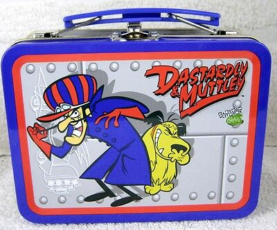 Dastardly & Muttley Wacky Races Tin Metal Mini Lunchbox Licensed New