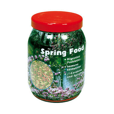 VELDA FLOATING SPRING PELLET POND FISH FOOD KOI FEED STICKS GOLDFISH 575g