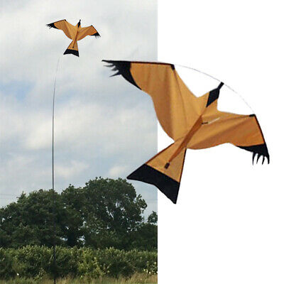 Brown hawk Kite kits. Bird Scarer Protect Farmers Crops.Comes With A Free Line