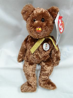 Ty Beanie Babies Champion 2002 FIFA SPAIN New All tags