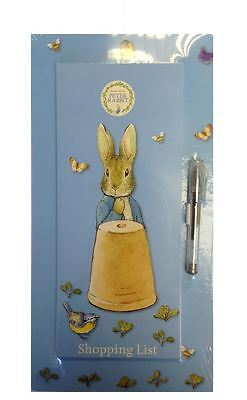 Beatrix Potter Peter Rabbit Magnetic Shopping Planner With Pad & Gel Pen