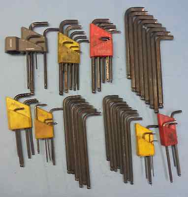 Lot Of Bondhus Style Allen Wrenches Many Sizes Machine Shop Tooling Machinist