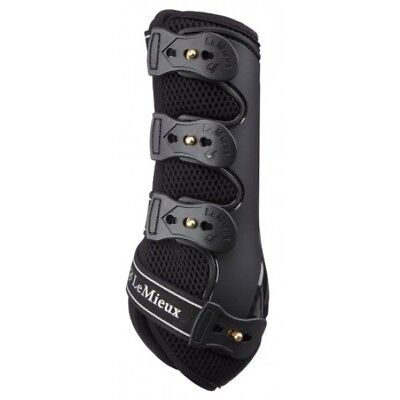 LeMieux ProSport Snug Boots, Ideal for Schooling/Jumping, Black,All Sizes
