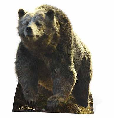 BALOO DISNEY'S THE JUNGLE BOOK CARDBOARD CUTOUT / STAND UP / STANDEE Bear