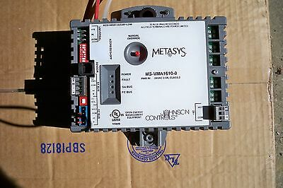 Johnson Controls Metasys White MS-VMA 1610-0 Used Variable Air Controller