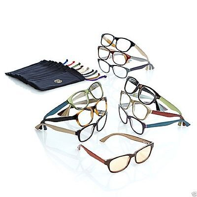 Joy Mangano 20 PC Couture SHADES Readers w/ Smart Lenses and Designer Frames