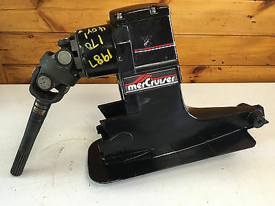 1987 Mercruiser 3.7 Alpha 1 470 4 Cylinder Upper Gear Unit Freshwater MN