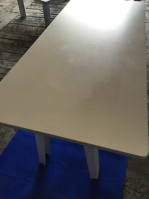 White Meeting Office Tablle Furniture