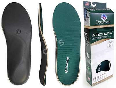 POWERSTEP ARCHLITE Cushioning Comfort Full Length Shoe Insoles Arch Supports USA