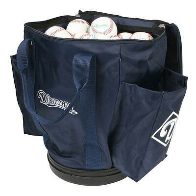 Diamond Baseball/Softball Team Ball Bag - Navy