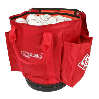Diamond Baseball/Softball Team Ball Bag - Scarlet