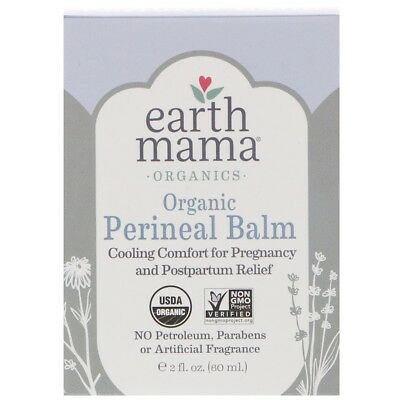 Earth Mama Angel Baby 100% Certified Organic Mama Bottom Balm Postpartum Tears